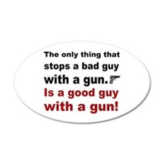 Good Guy with a gun Wall Decal