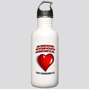 LOVE CONQUERS ALL Water Bottle