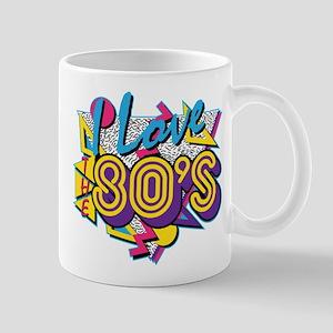 I Love The 80s 11 oz Ceramic Mug