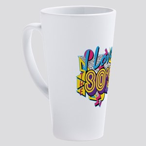 I Love The 80s 17 oz Latte Mug