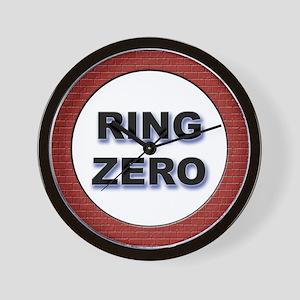 """Ring Zero"" Wall Clock"