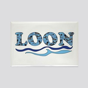 loon Rectangle Magnet