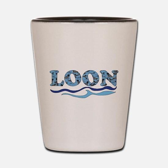 loon Shot Glass