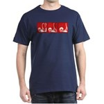 Red Fencing Thrust Dark T-Shirt