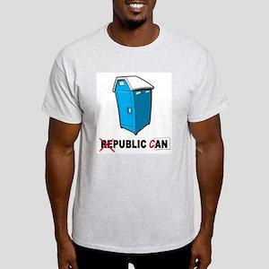 Public Can Ash Grey T-Shirt