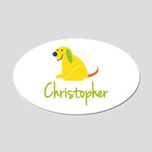 Christopher Loves Puppies Wall Decal