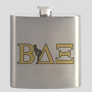Beta House Fraternity Flask