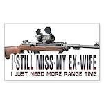 I Still Miss My Ex-Wife Sticker