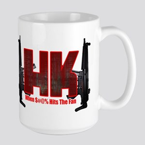 HK- When $#^% Hits The Fan Mug