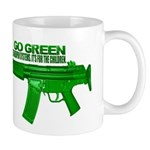 Go Green. No Wood Stocks! Mug