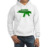Go Green. No Wood Stocks! Hoodie