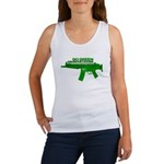 Go Green. No Wood Stocks! Tank Top