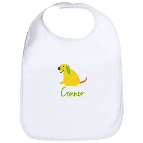 Connor Loves Puppies Bib