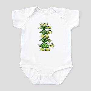 Turtle Stack Infant Bodysuit