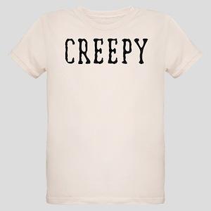 Halloween Creepy Organic Kids T-Shirt