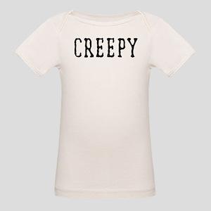 Halloween Creepy Organic Baby T-Shirt