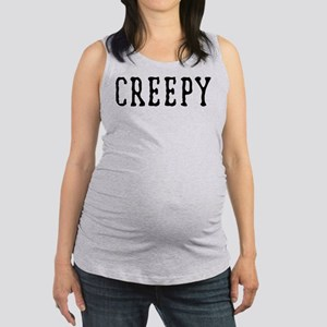 Halloween Creepy Maternity Tank Top