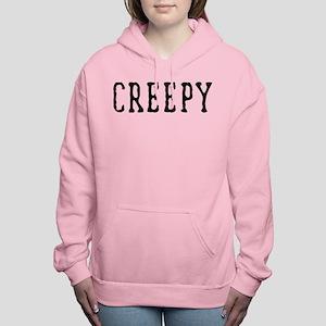 Halloween Creepy Women's Hooded Sweatshirt