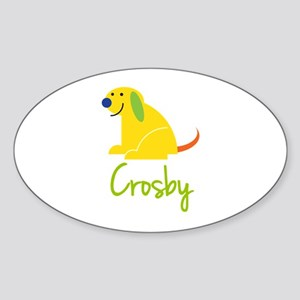 Crosby Loves Puppies Sticker