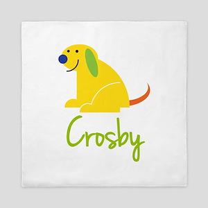 Crosby Loves Puppies Queen Duvet