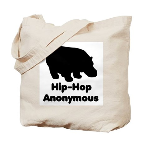 Hip-Hop Anonymous Tote Bag
