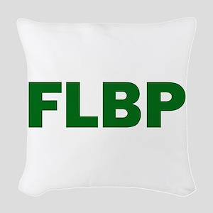 FLBP Woven Throw Pillow