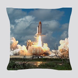 STS-26 Return to Flight Launch Woven Throw Pil