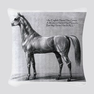 Bairactar_003 Woven Throw Pillow