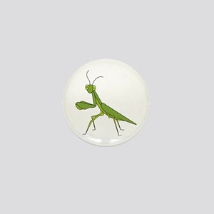 Praying Mantis Mini Button