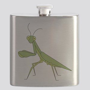 Praying Mantis Flask
