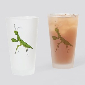 Praying Mantis Drinking Glass