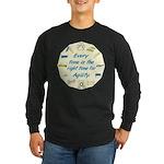 Agility Time v 2 Long Sleeve Dark T-Shirt