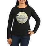 Agility Time v 2 Women's Long Sleeve Dark T-Shirt