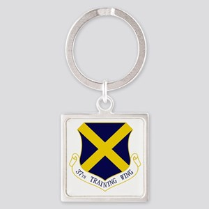 37th TW Square Keychain