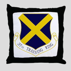 37th TW Throw Pillow