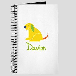 Davion Loves Puppies Journal