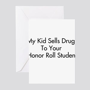 Honor roll greeting cards cafepress honor students greeting cards pk of 10 m4hsunfo