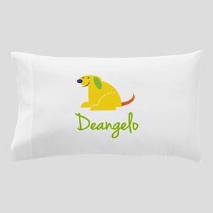 Deangelo Loves Puppies Pillow Case