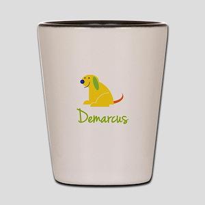 Demarcus Loves Puppies Shot Glass