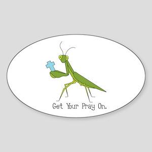 Get Your Pray On Sticker