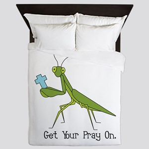 Get Your Pray On Queen Duvet