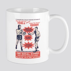 Tesla V. Edison Mug Mugs