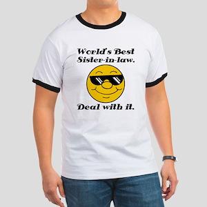 World's Best Sister-In-Law Humor Ringer T