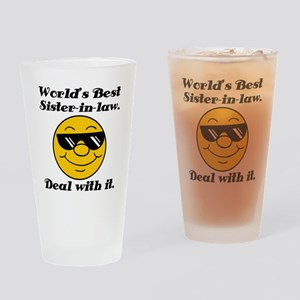 World's Best Sister-In-Law Humor Drinking Glass