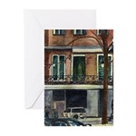 On Canal Street Greeting Cards (Pk of 10)