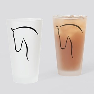 Pferd Drinking Glass
