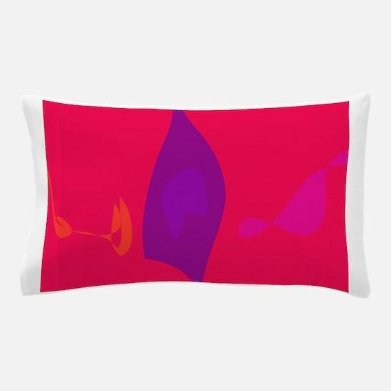 Purple Flame Pillow Case