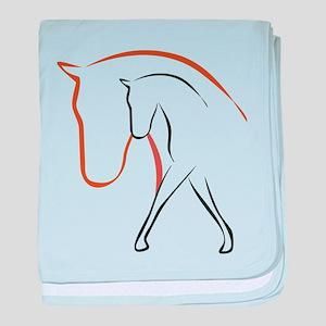 Pferd baby blanket