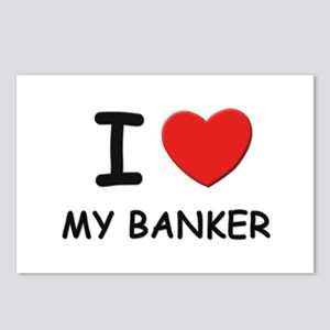 I love bankers Postcards (Package of 8)