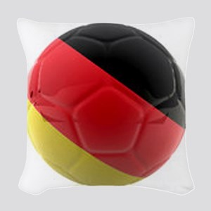 Germany World Cup Ball Woven Throw Pillow
